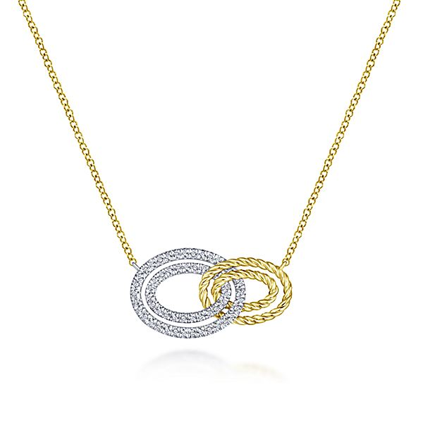 Necklace by Gabriel & Co